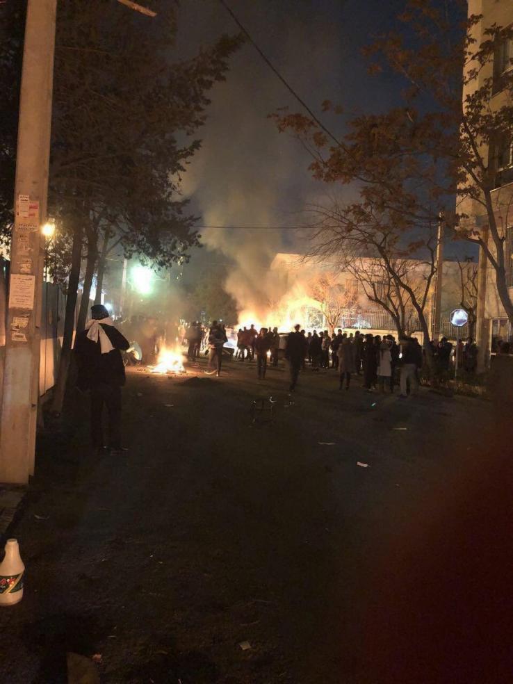 تیراندازی نیروی انتظامی به تجمع دراویش در گلستان هفتم