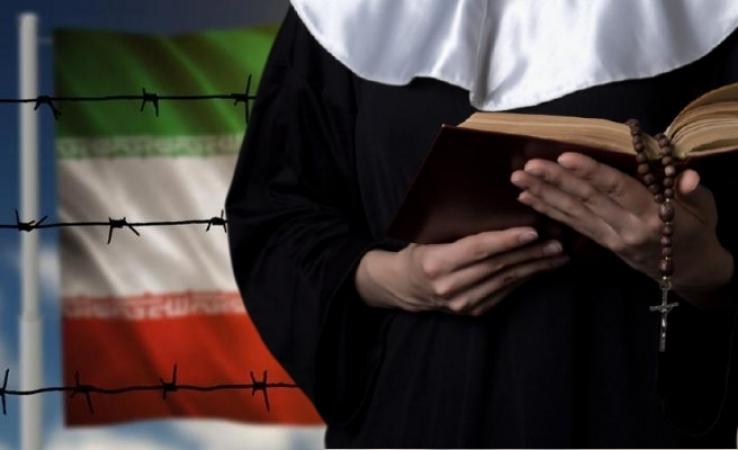 اخراج یک راهبه کاتولیک از ایران